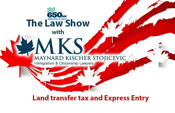 British Columbia land transfer tax - Rudolf Kischer and Gordon Maynard