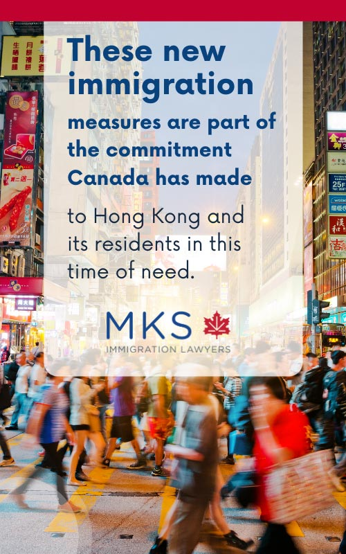 Hong kong immigration to canada