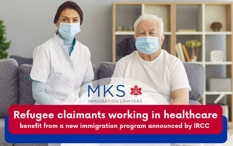 Refugee claimants working in healthcare - permanent residence from refugee claimants